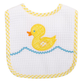 FEEDING BIB - YELLOW DUCK