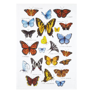 BUTTERFLIES PRINTED HAND TOWEL