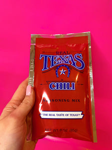 TEXAS CHILI SEASONING MIX