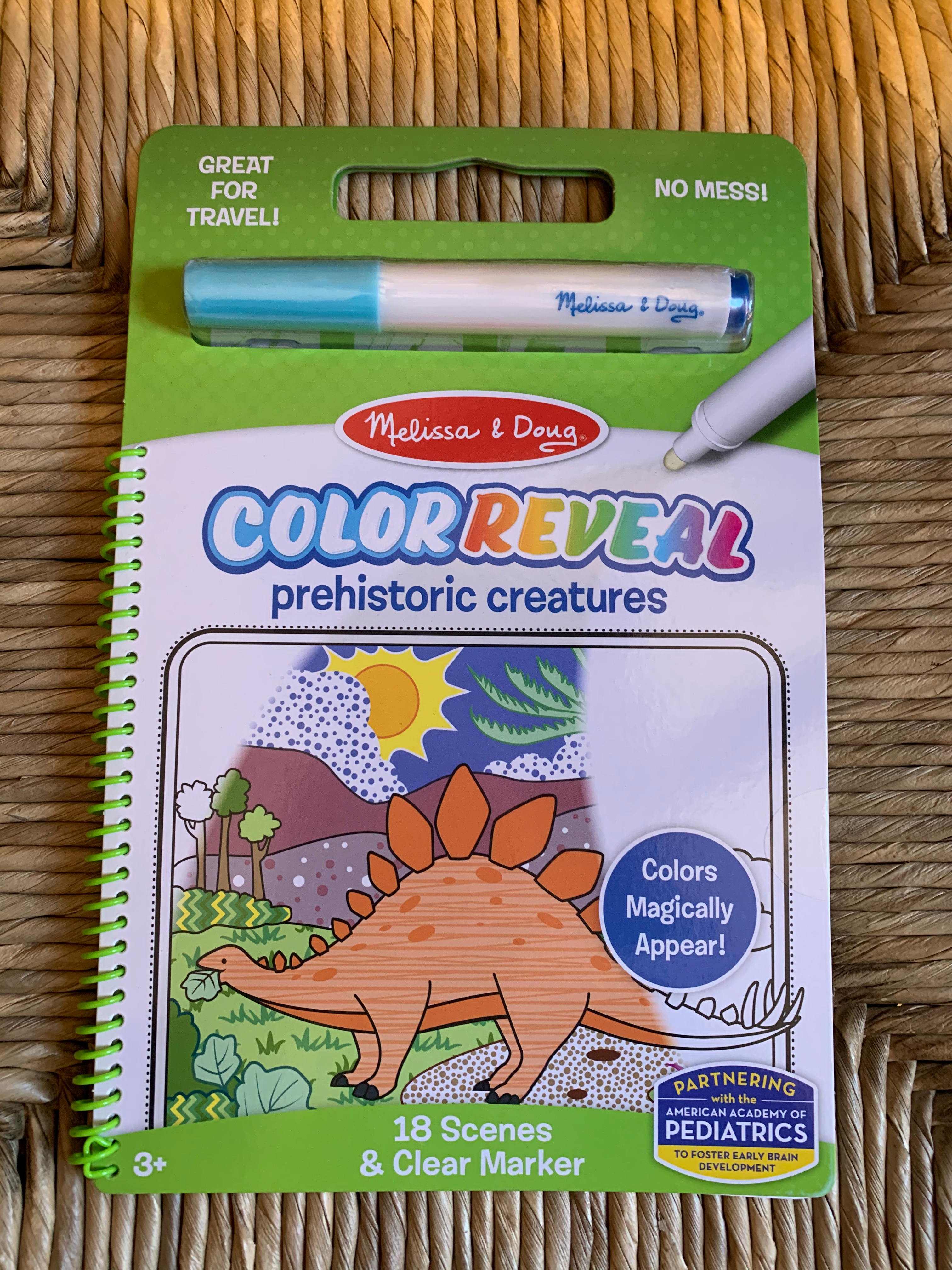 COLOR REVEAL - PREHISTORIC CREATURES