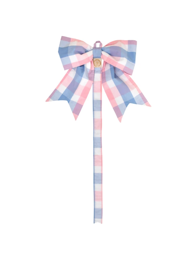BIBIE BOW HOLDER - CHARLESTON CHARMING PLAID
