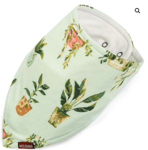 KERCHIEF BIB - POTTED PLANTS
