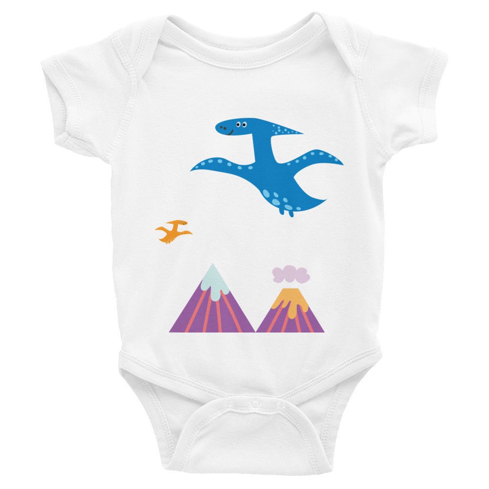 Flying Dinos Infant Bodysuit