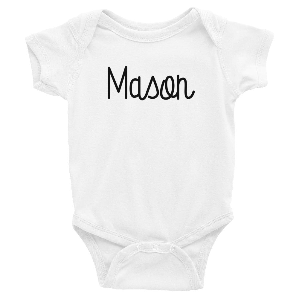 Mason Infant Baby Onesie Bodysuit