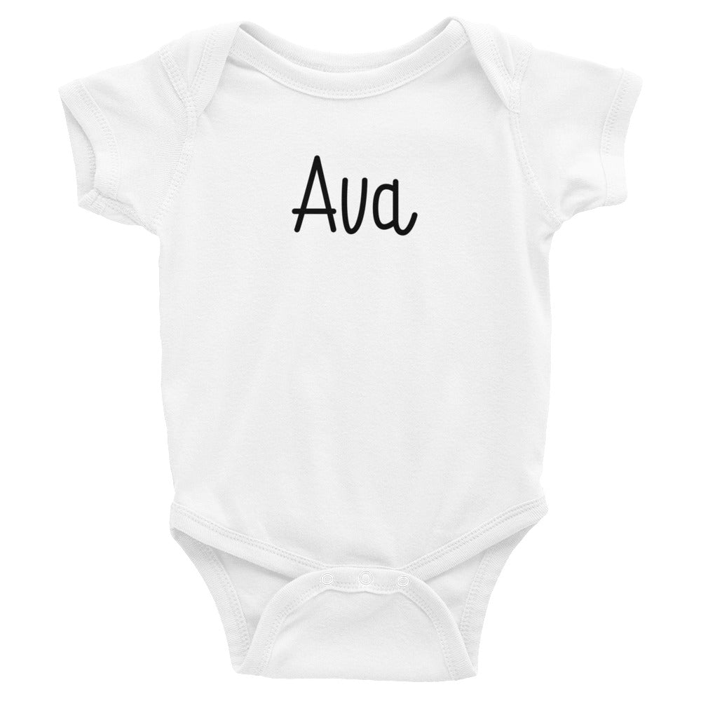 Ava Infant Baby Onesie Bodysuit