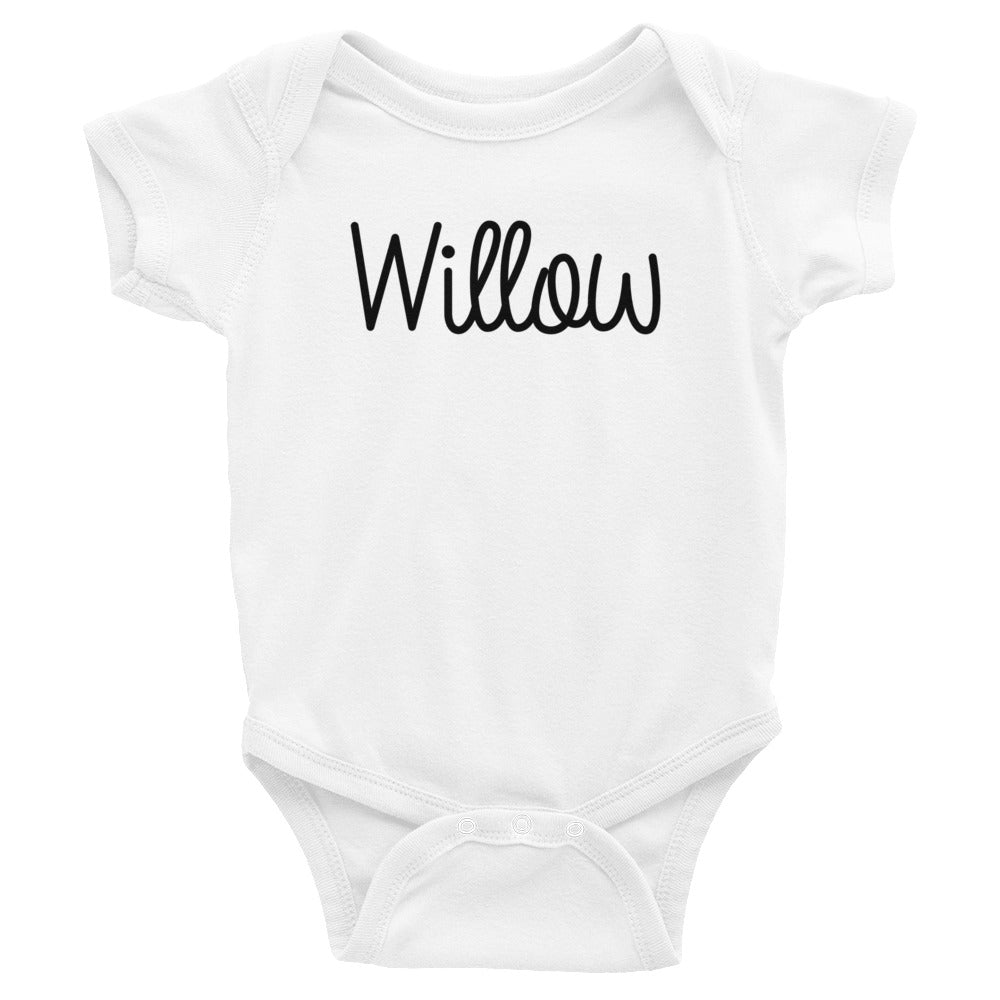 Willow Infant Baby Onesie Bodysuit
