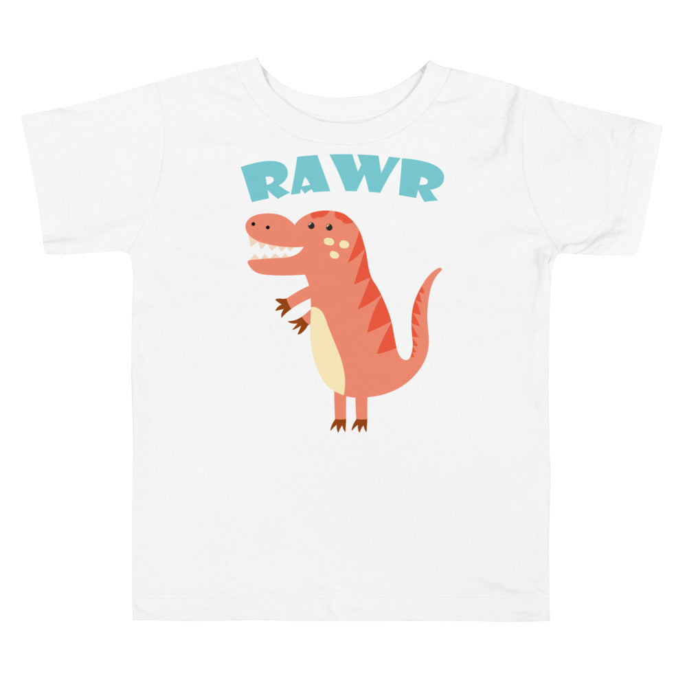 RAWR Dinosaur Toddler Short Sleeve Tee
