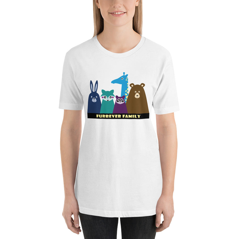 FURRever Family Short-Sleeve Unisex T-Shirt