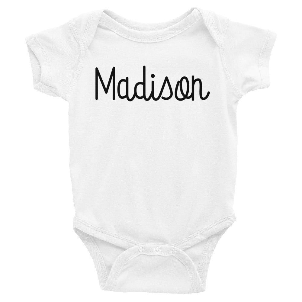 Madison Infant Baby Onesie Bodysuit