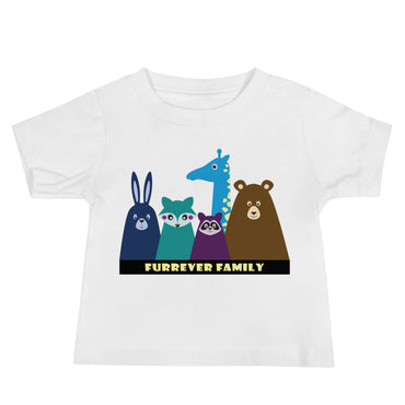 FURRever Family Baby Jersey Short Sleeve Tee