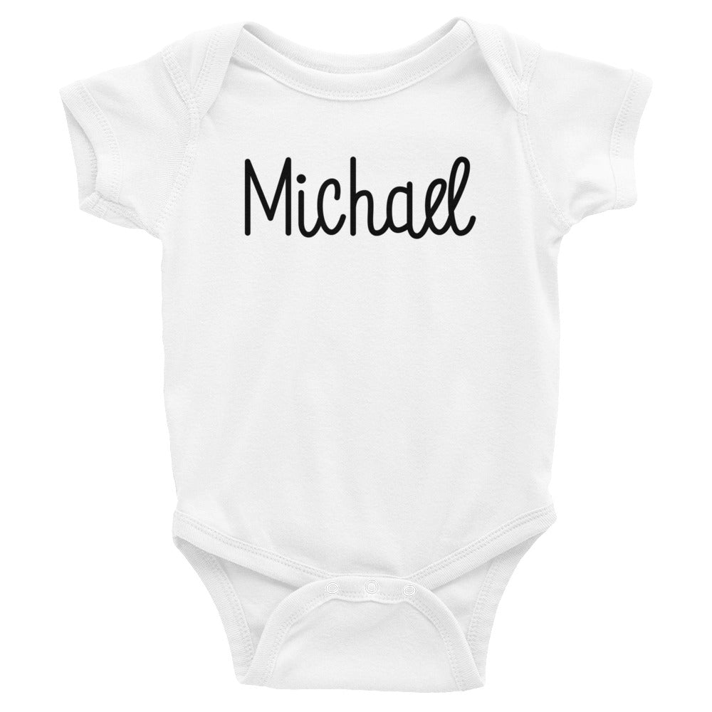 Michael Infant Baby Onesie Bodysuit