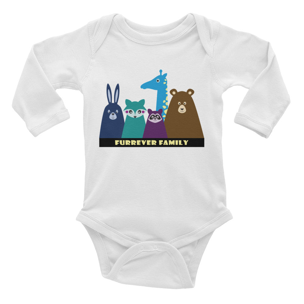 FURRever Family Infant Long Sleeve Bodysuit