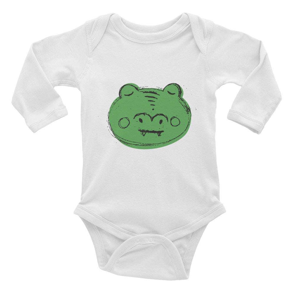 Alligator Infant Long Sleeve Bodysuit