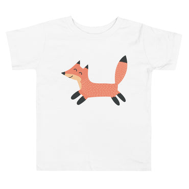 Jumping Fox Toddler Short Sleeve Tee