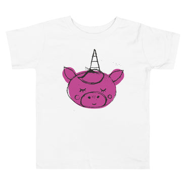 Unicorn Toddler Short Sleeve Tee