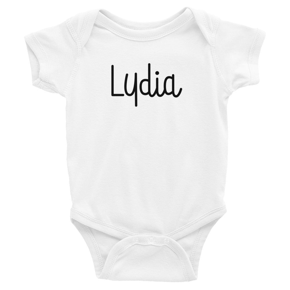 Lydia Infant Baby Onesie Bodysuit