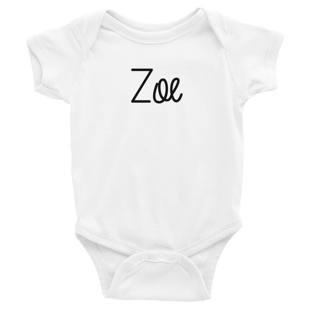 Zoe Infant Baby Onesie Bodysuit