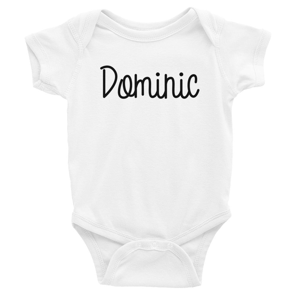 Dominic Infant Baby Onesie Bodysuit