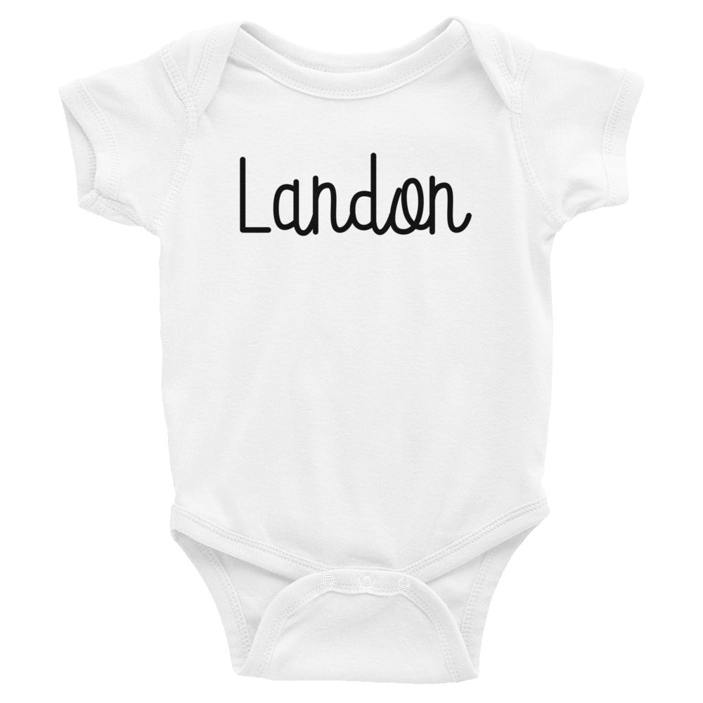 Landon Infant Baby Onesie Bodysuit
