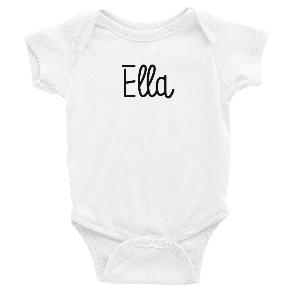 Ella Infant Baby Onesie Bodysuit