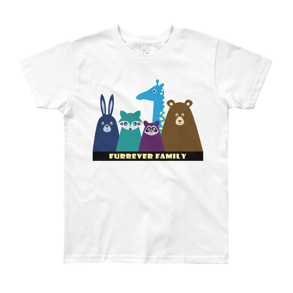 FURRever Family Youth Short Sleeve T-Shirt