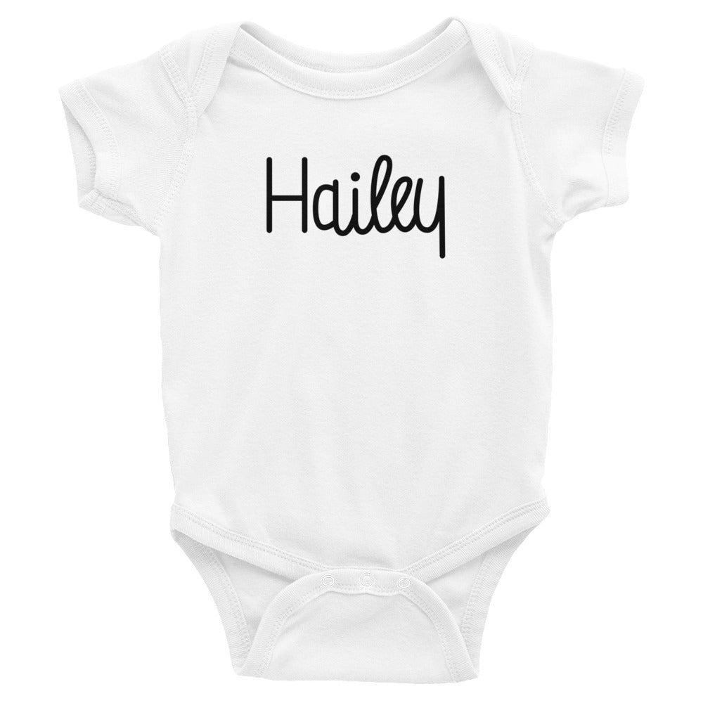 Hailey Infant Baby Onesie Bodysuit