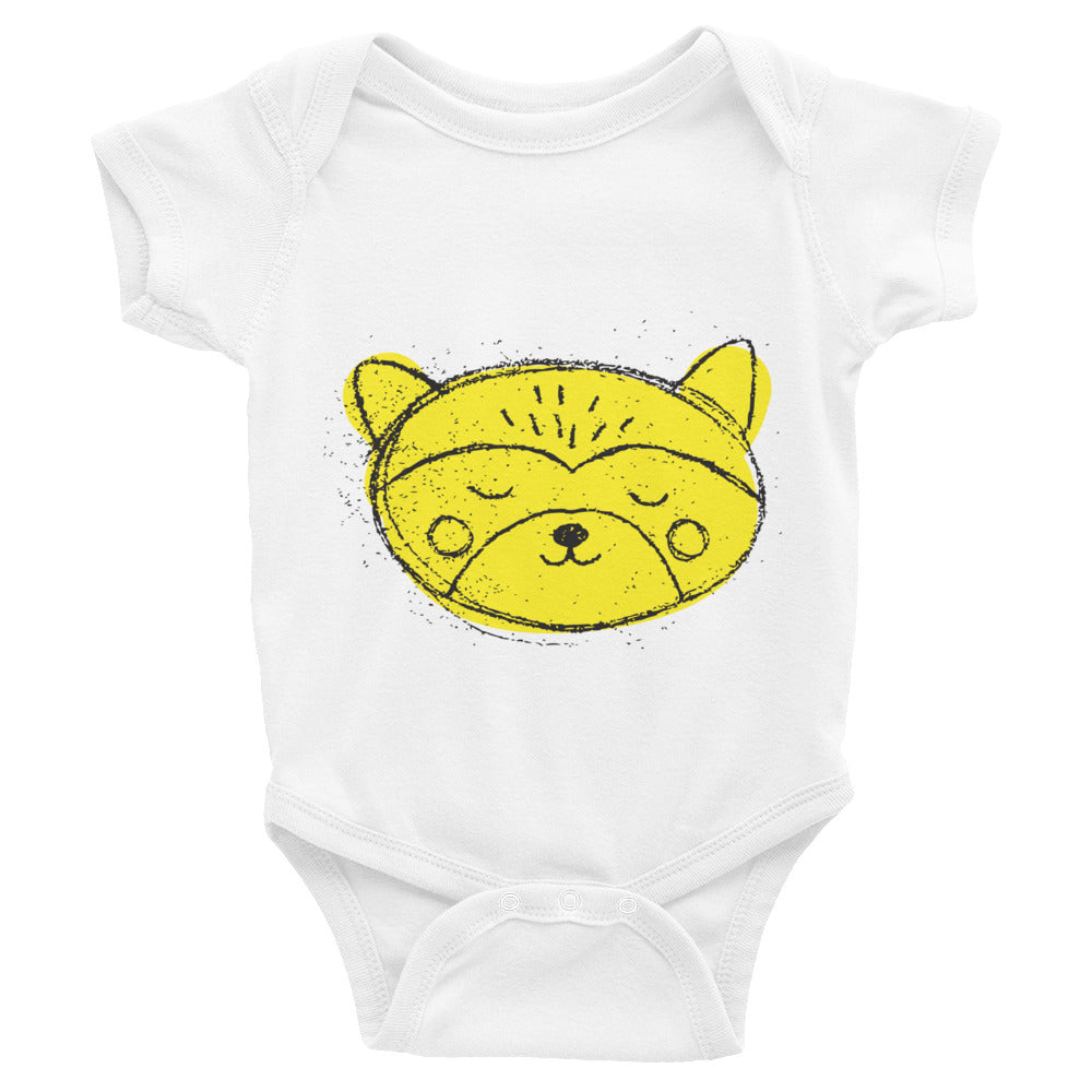 Raccoon Infant Bodysuit