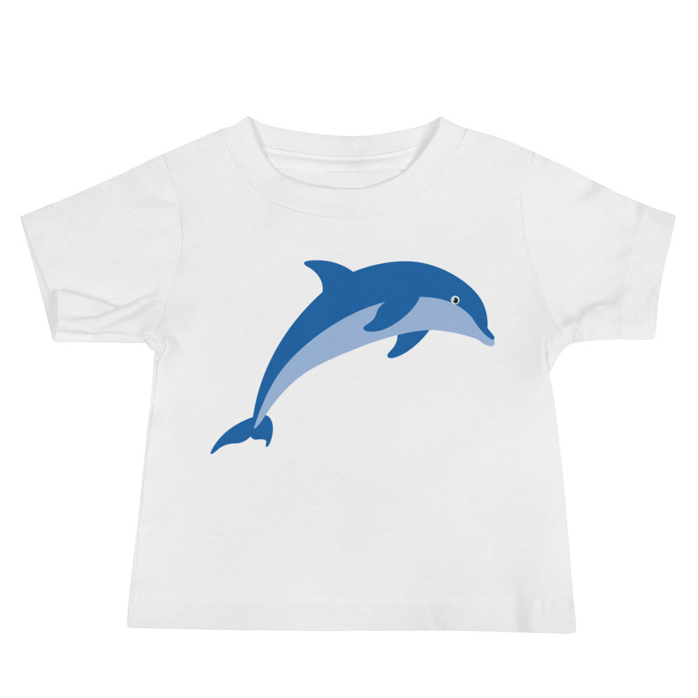 Jumping Dolphin Baby Jersey Short Sleeve Tee