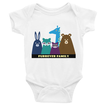 FURRever Family Infant Onesie Bodysuit