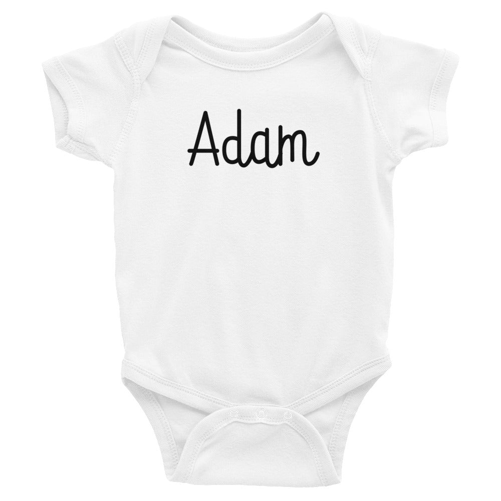 Adam Infant Baby Onesie Bodysuit