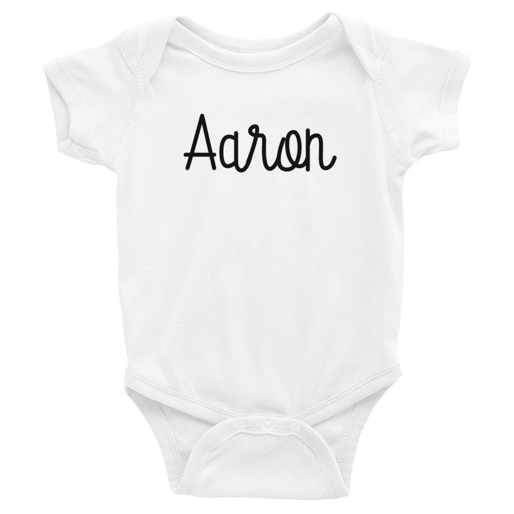 Aaron Infant Baby Onesie Bodysuit