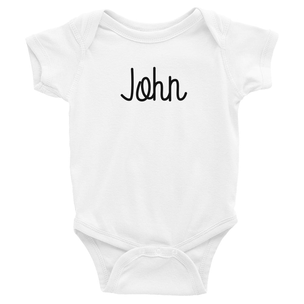 John Infant Baby Onesie Bodysuit