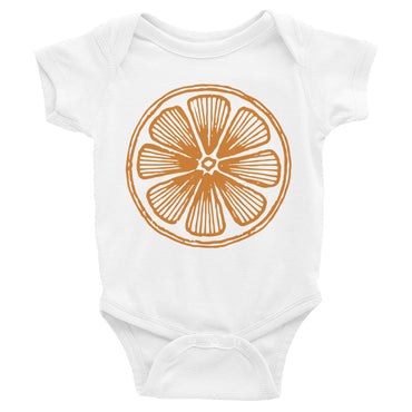 Juicy Orange Infant Onesie Bodysuit