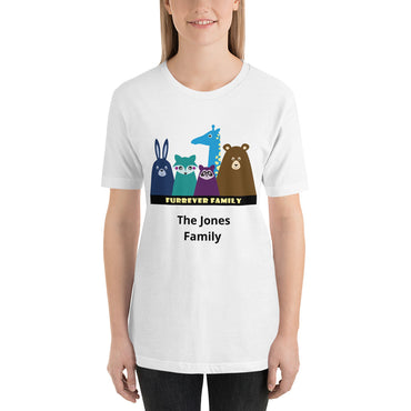 FURRever Family Personalized Short-Sleeve Unisex T-Shirt