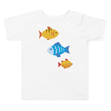 Swimming School of Fish Toddler Short Sleeve Tee