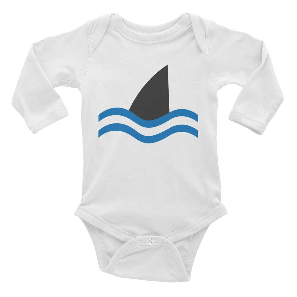 """Don't Go In the Water"" Infant Long Sleeve Bodysuit"