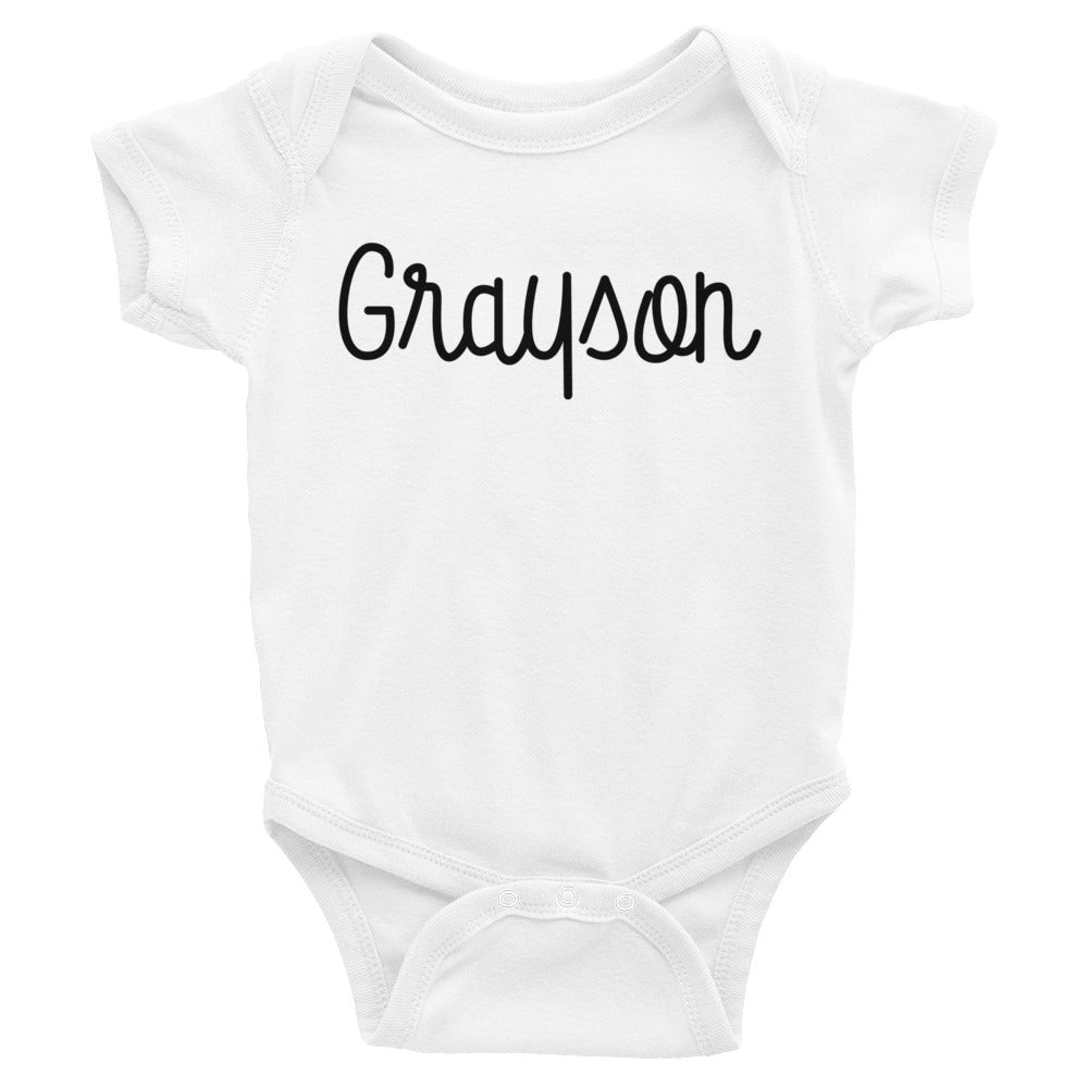 Grayson Infant Baby Onesie Bodysuit