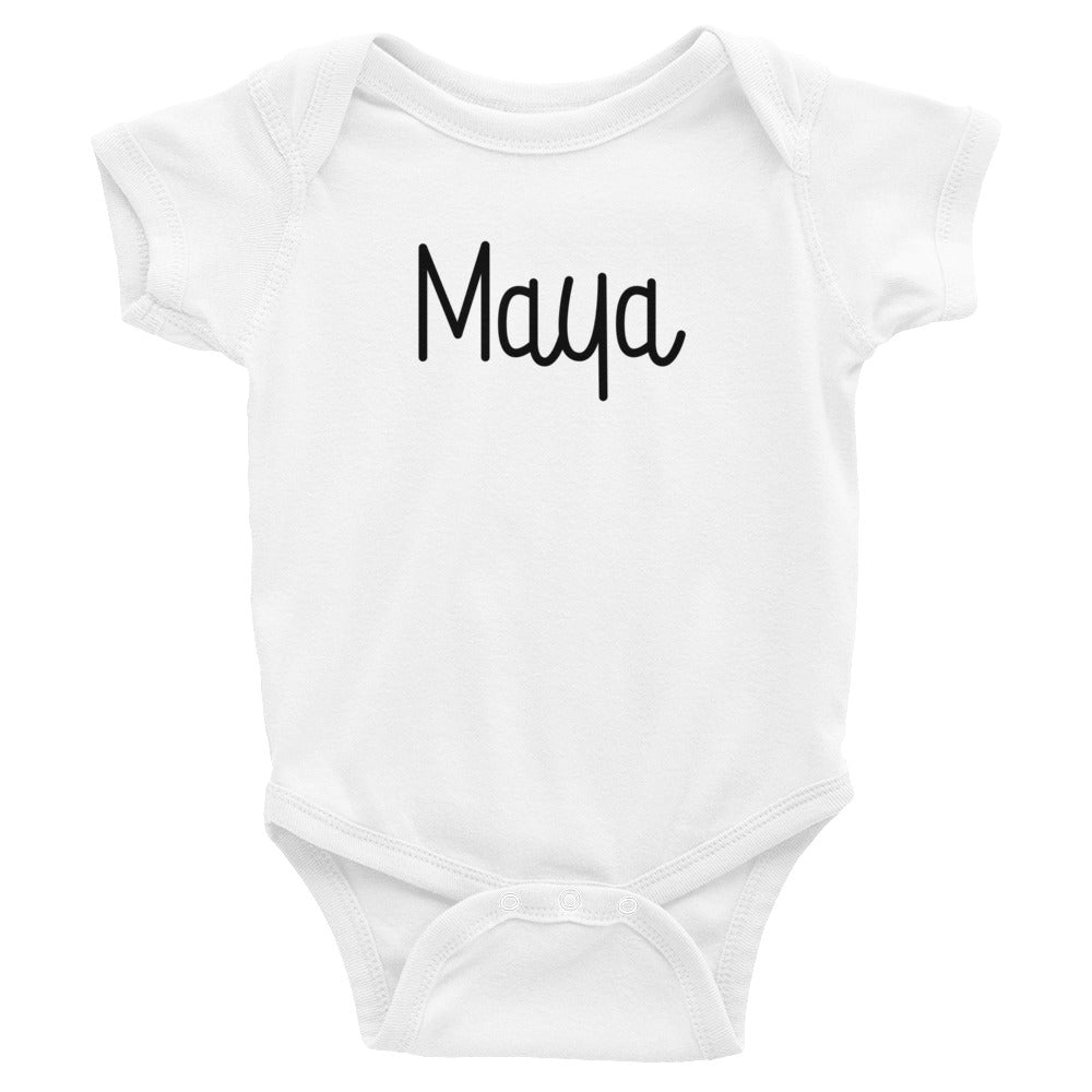 Maya Infant Baby Onesie Bodysuit