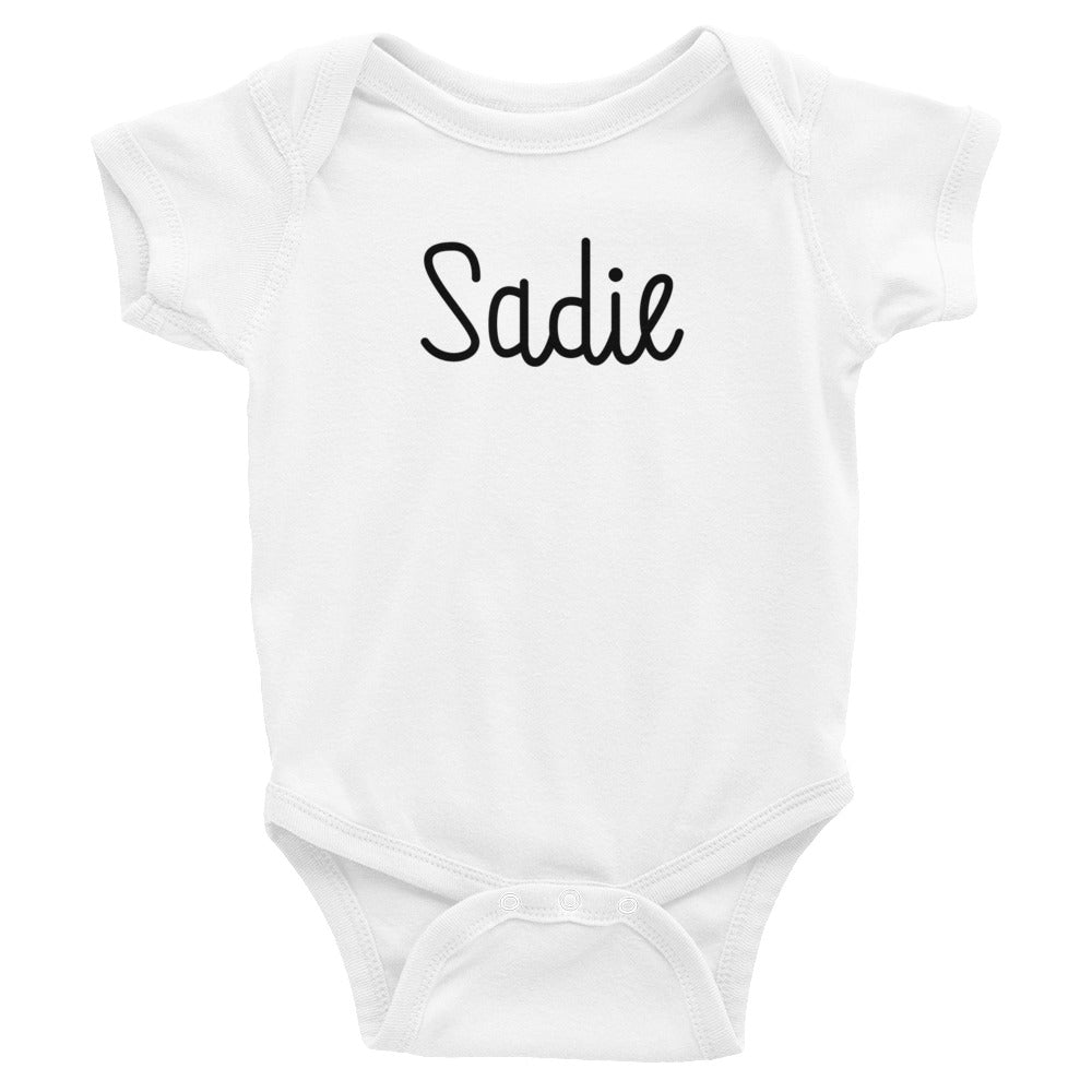 Sadie Infant Baby Onesie Bodysuit