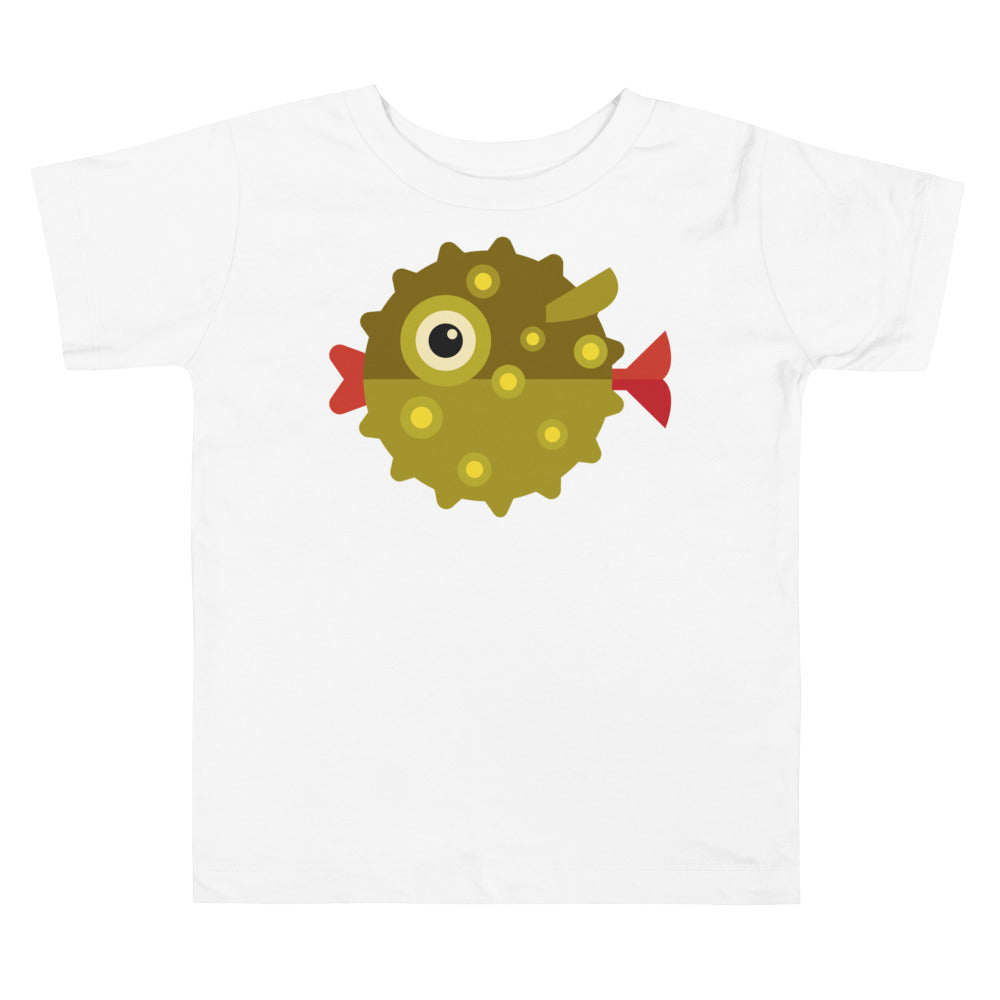 Pufferfish Toddler Short Sleeve Tee
