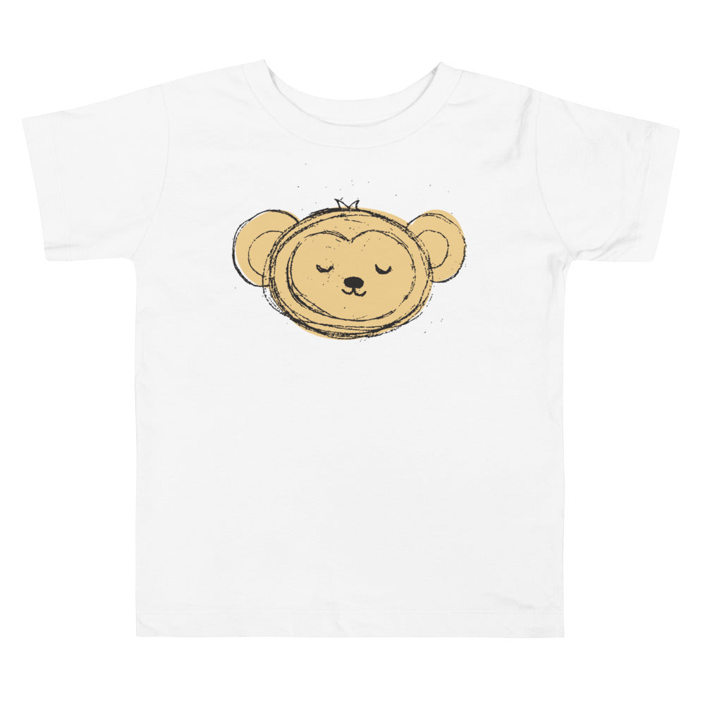 Monkey Toddler Short Sleeve Tee