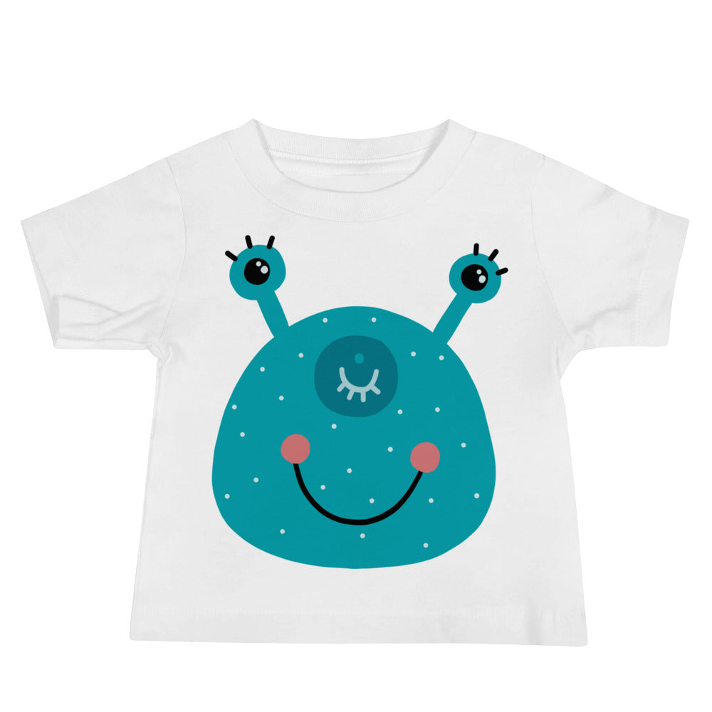 Smiling Monster Baby Jersey Short Sleeve Tee