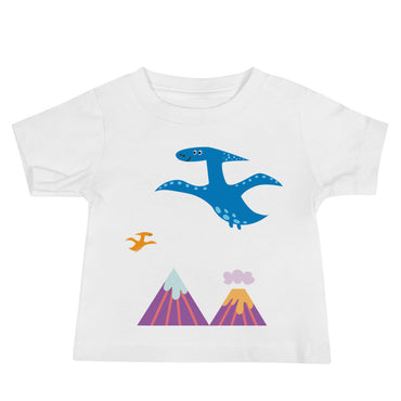 Flying Dinos Baby Jersey Short Sleeve Tee