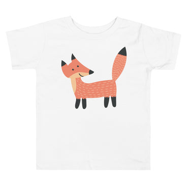 Smiling Fox Toddler Short Sleeve Tee