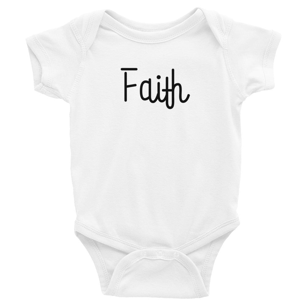 Faith Infant Baby Onesie Bodysuit