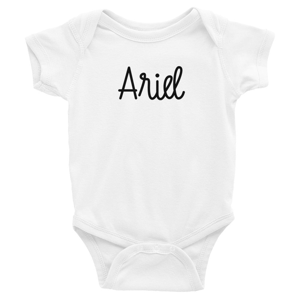Ariel Infant Baby Onesie Bodysuit