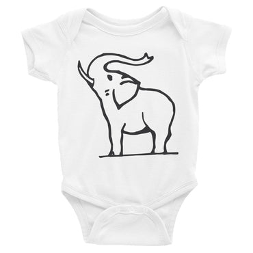 Elephant Infant Onesie Bodysuit