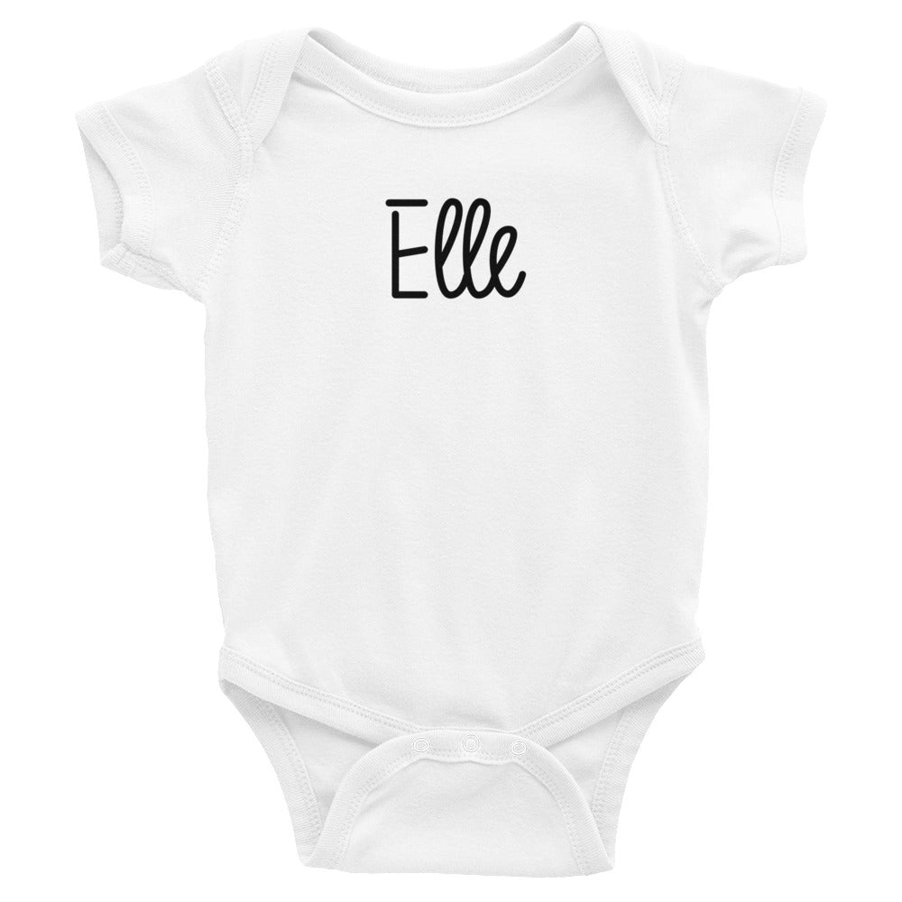 Elle Infant Baby Onesie Bodysuit