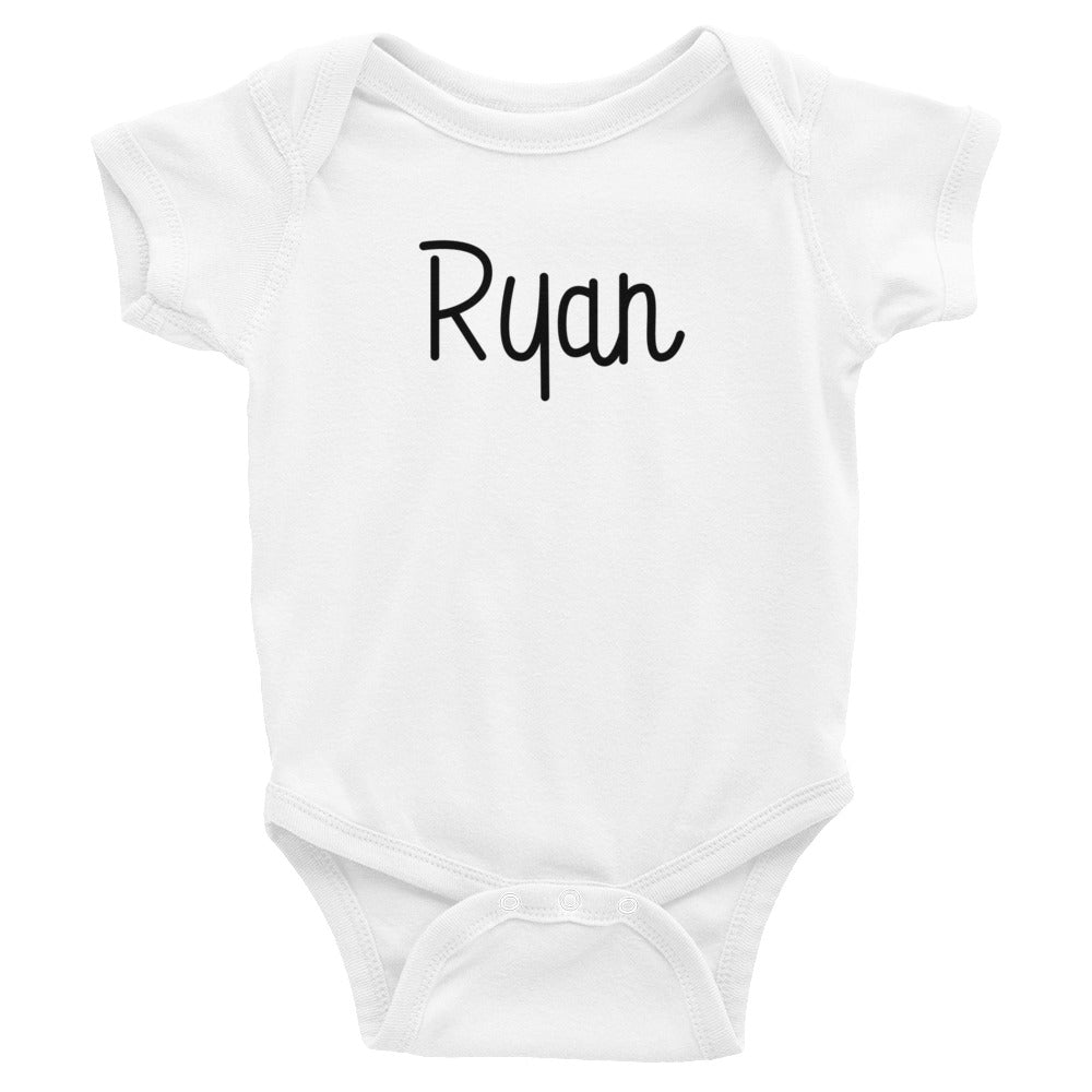 Ryan Infant Baby Onesie Bodysuit