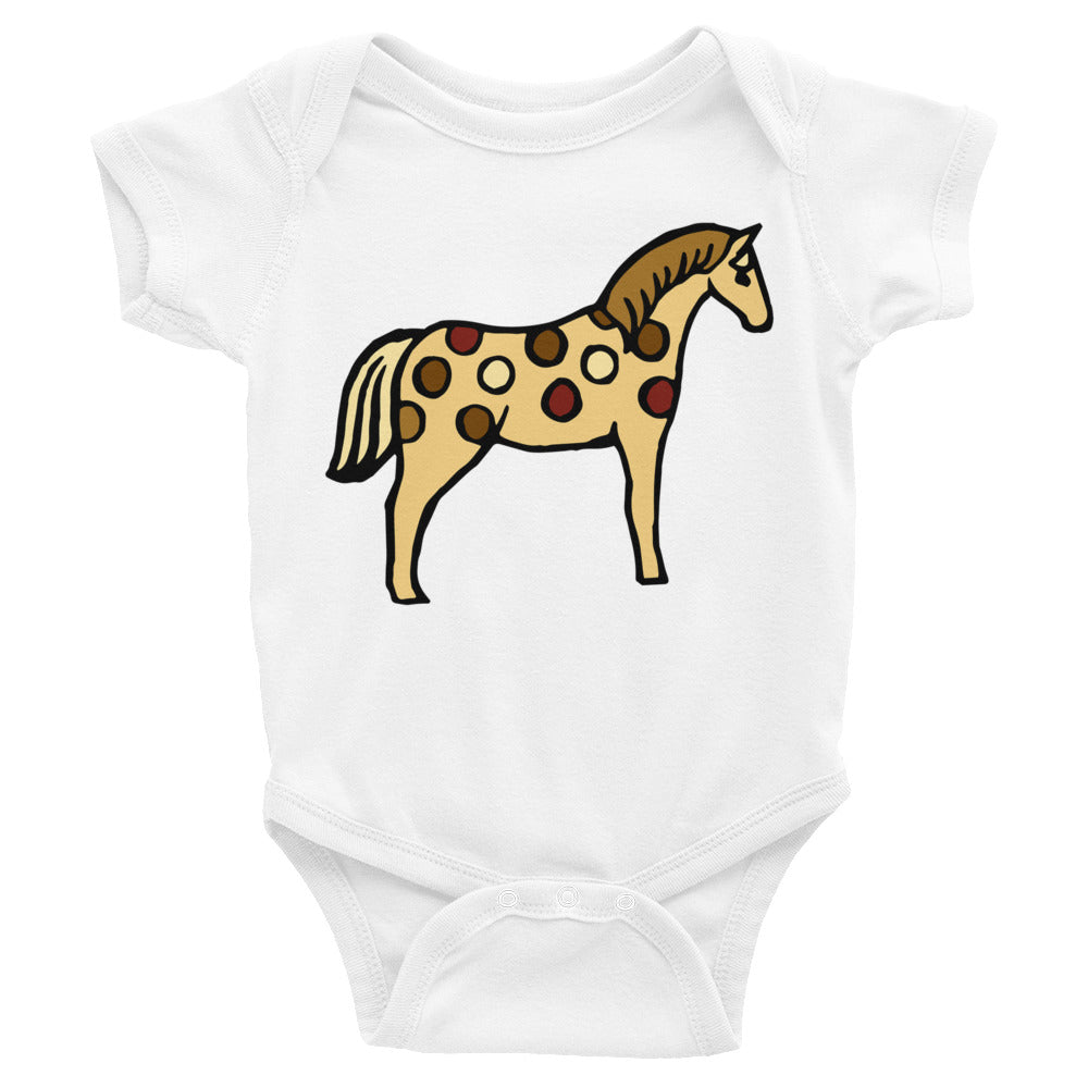 Spotted Horse Infant Onesie Bodysuit